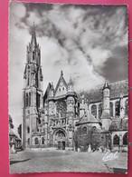 Senlis - Cathédrale Notre Dame - Le Clocher Et Le Transept - Carte Maximum 1958 Premier Jour - R/verso - Senlis