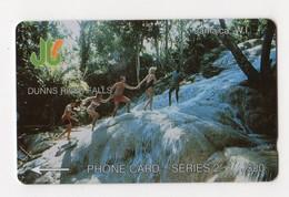 JAMAIQUE TELECARTE REF MV CARD JAM-1C J$20 CN 1JAMC DATE 1990 DUNNS RIVER FALLS - Jamaica