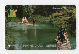 JAMAIQUE TELECARTE REF MV CARD JAM-1B J$20 CN 1JAMB DATE 1990 RIO GRANDE - Jamaica
