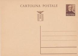 ITALIA -  R.S.I. - INTERO POSTALE  C. 30 - GIUSEPPE MAZZINI- NON VIAGGIATO - Postwaardestukken