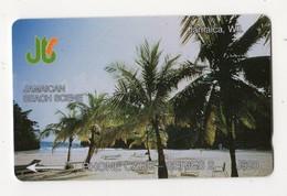 JAMAIQUE TELECARTE REF MV CARD JAM-1A J$20 CN 1JAMA DATE 1990 JAMAICAN BEACH - Jamaica