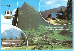 Saint-Pierre De Chartreuse-Isère-Multivues-Télécabine De La Scia-Chalet Des Neiges (ville De Givors)-Village+Chamechaude - Saint-Laurent-du-Pont