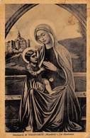 """7634 """" SANTUARIO DI VICOFORTE (MONDOVI')-LA MADONNA """"  - CART. POST. ORIG. SPED.1949 - Vergine Maria E Madonne"""