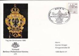 Berlin - Postkarte Mit Sonderstempel Tag Der Briefmarke Verband Berliner Philatelisten-Vereine - 1980  (49194) - [5] Berlin