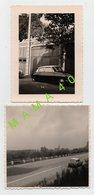 2 PHOTOS - VOITURE CITROEN DS AU TOIT BLANC - Cars