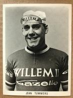 Jean Tummers - Willem II - Gazelle 1967 - Carte / Card - Cyclists - Cyclisme - Ciclismo -wielrennen - Cyclisme