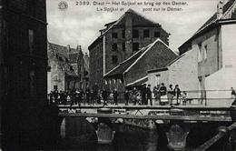 Diest Het Spijkel En Brug Op Den Demer 1912 - Diest