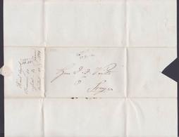 BUDWEIS 1844 Vorphila-Brief  Mit Inhalt Nach STEYR - Tchécoslovaquie