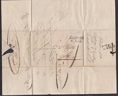 SALZBURG 1839 Vorphila-Brief  Mit Inhalt Nach STEYR Mit Begleitzettel Factorie Handelsgeschäft Schaffner - Österreich
