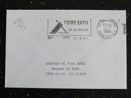 BRESSUIRE - DEUX SEVRES - FLAMME FOIRE EXPO 1994 - Marcophilie (Lettres)