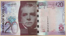 Scotland 20 Pounds 2009 UNC P- 126b < Bank Of Scotland > - Scozia