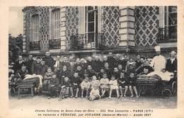 77-PEREUSE- PAR JOUARRE- JEUNES INFIRMES DE ST-JEAN-DE-DIEU, 223 RUE LECOURBE PARIS EN VACANCES ANNEE 1937 - Andere Gemeenten