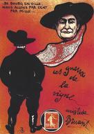 CPM Timbre Monnaie Tirage Limité 30 Ex Numérotés Non Circulé Les événements Viticoles 1913 Aristide Bruant - Stamps (pictures)