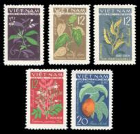 No. 287-292 Vietnam 1963  Medicinal Plants. - Viêt-Nam