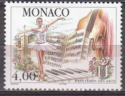 Monaco 1998 Ballet/Instruments  Michel 2401  MNH 26922 - Music