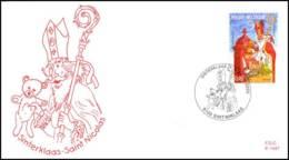 [F7985] 3210 - FDC - Sinterklaas #1 P1447 - 2001-10