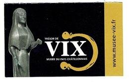 Ancien Ticket D'entrée Musée Du Pays Chatillonnais LE TRESOR DE VIX 2017 - Tickets - Vouchers