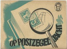 OP POSTZEGELJACHT - J. DENIS - MIJLPAALSERIE N° 42 - 1946 - Autres Livres