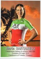 CYCLISME: CYCLISTE : MARTA BASTIANELLI - Ciclismo