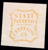 Parma - Governo Provvisorio: 80 C. Bistro Oliva - 1859 (B) - Parma
