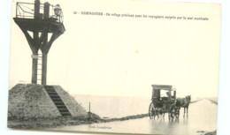 85* NOIRMOUTIER Passage Du Gois  Attelage - Noirmoutier