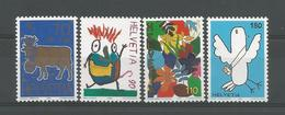 Switzerland 1996 Drawings Y.T. 1521/1524  ** - Switzerland
