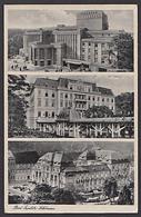 Bad Teplitz-Schönau Teplice  Hochradioaktive Thermen Stadttheater Steinbad 1940 Photokarte, Böhmen - Sudeten