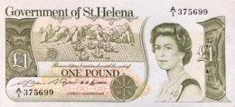 Saint Helena 1 Pound, P-9 (1981) - UNC - Isla Santa Helena