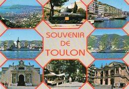 83 -TOULON - Le Suffren Et Le Colbert -Le Marché - Musée De La Marine - Toulon