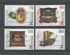 Switzerland 1996 Music Boxes Y.T. 1513/1516  ** - Switzerland