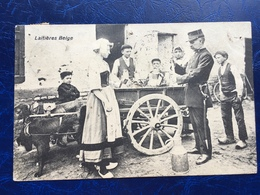"""""""Laitière Flamande Avec Attelage De Chiens--vérification Du Lait """"(2253)--1912 - Artisanat"""