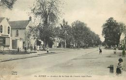 JUVISY - Avenue De La Cour De France Vers Paris. - Juvisy-sur-Orge