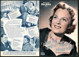 Filmprogramm IFB Nr. 2169, Wenn Der Weisse Flieder Wieder Blüht, Magda Schneider, Willy Fritsch - Revistas