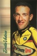 Postcard Marco Della Vedova -  Mercatone Uno  - 2002 - Ciclismo