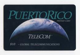 PUERTO RICO CARAIBES Ref MVCARDS PRI G3 GLOBAL TELECOM 10$ Earth Date 04/97 - Puerto Rico