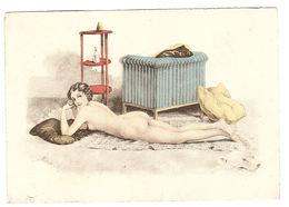Illustrateur BARRE DAYEZ N° 1252 A - FEMME Allongée Sur Un Tapis - Women