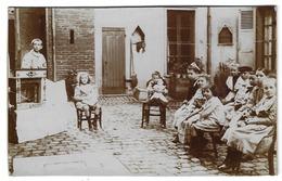 THÉATRE DE GUIGNOL - MARIONNETTES - Photo Ancienne Sur Support Cartonné - 17 X 10,5 Cm - Années 1900 - Photographs