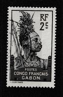 GABON YT 34 Oblitéré - Used Stamps