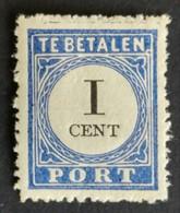 Nederland/Netherlands - Nr. P14f (postfris Met Plakker) - Postage Due