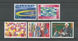 Switzerland 1996 Anniversaries Y.T. 1499/1503  ** - Switzerland