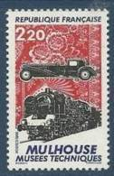 "FR YT 2450 "" Musée De Mulhouse "" 1986 Neuf** - Unused Stamps"