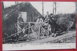 La Grande Guerre - Vauquois (Meuse) - Le Gourbi D'un Commandant - N° 50 - War 1914-18