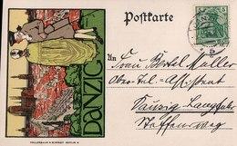 II. Westpreußisches Sängerfest 28.-30. Juni 1913, Danzig. (Gdańsk). - Pologne