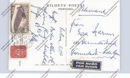 PORTUGAL - 1953, Michel 727 & 785, AK-Frankatur Nach Deutschland - 1910-... Republic