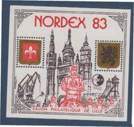 CNEP-1983-N°4** NORDEX.Salon Philathélique De LILLE.TYPE I - CNEP