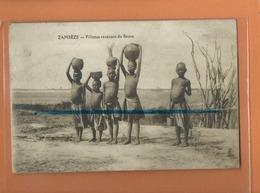 CPA - ZAMBEZE - Fillettes Revenant Du Fleuve - Zambia
