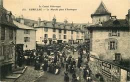 CANTAL   AURILLAC  Le  Marché Place D'aurinques - Aurillac