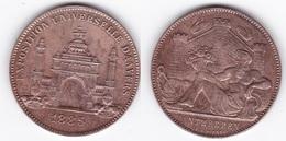BELGIQUE ANVERS EXPOSITION UNIVERSELLE 1885 - Touristiques