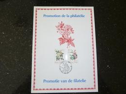 "BELG.1990 2353/2354 FDC Filatelic Card   : "" Belgica 90 "" - FDC"