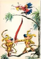 Vie Et Moeurs Des Marsupilamis - Les Personnages Du Journal De Spirou - Carte 20-4 - Années 70 - Cómics
